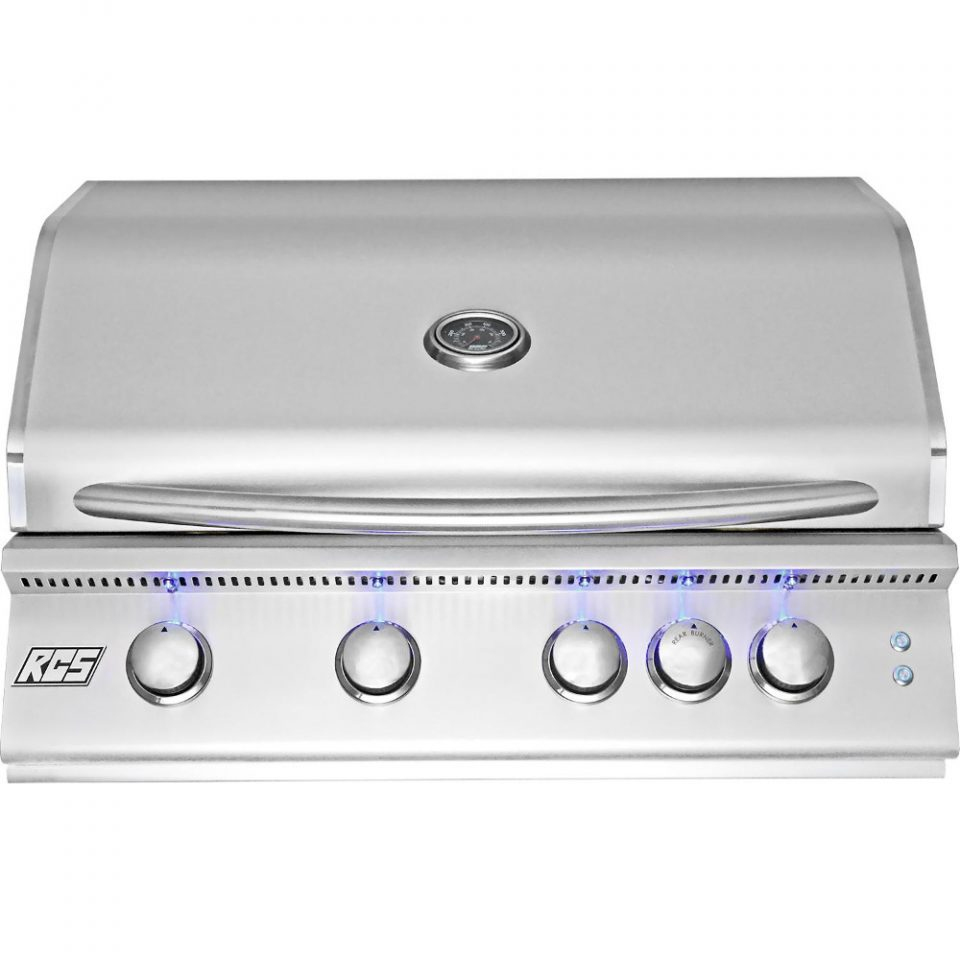 "RCS 32"" Premier Built-in Grill w/ LED Lights, RJC32AL"