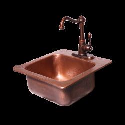 RCS Copper Sink & Faucet, RSNK3