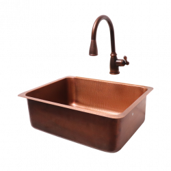 RCS Copper Undermount Sink, RSNK4