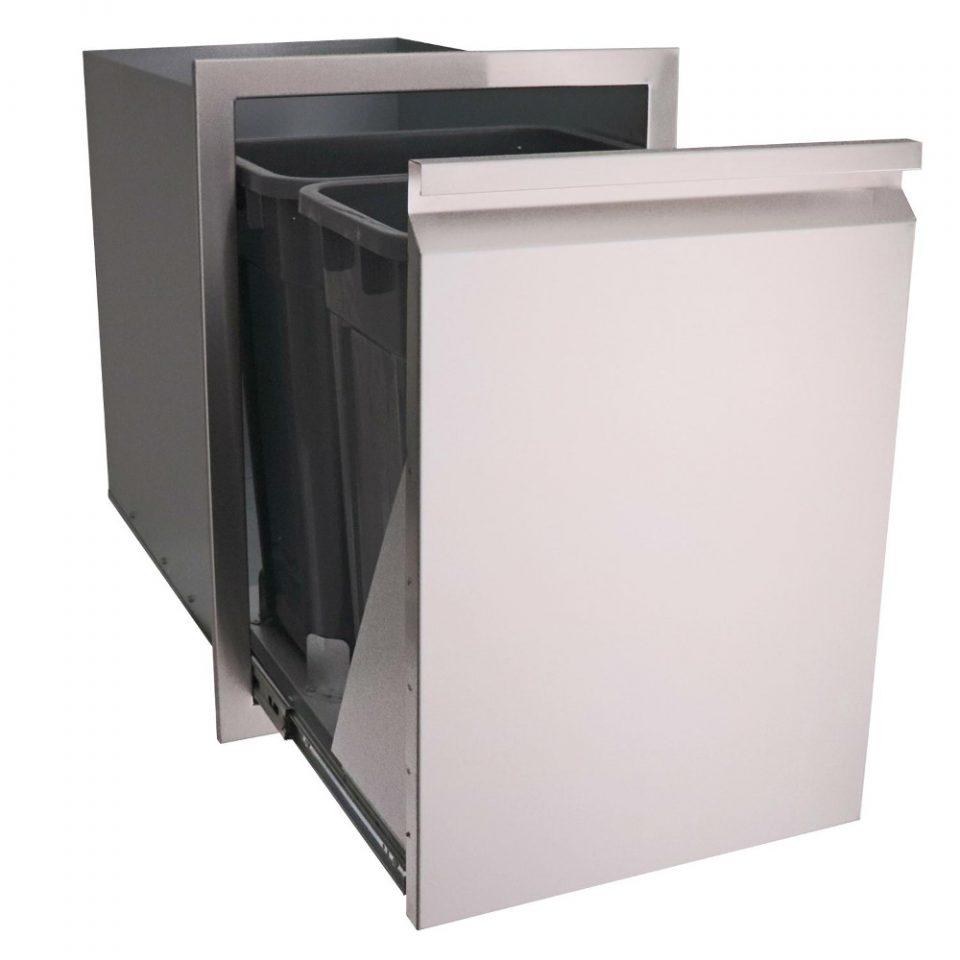 RCS Valiant Series Double Trash Drawer, VTD2