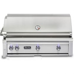 "Viking 42""W. Built-in Grill with ProSear Burner and Rotisserie, VQGI5420"