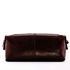 Apothecary 87 Leather Wash Bag