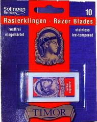 Timor DE Razor Blades pack of 10
