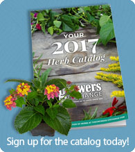 The Herb Catalog Sign-up