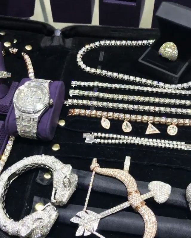 Gucci Mane Shows Off Incredible Jewelry Collection