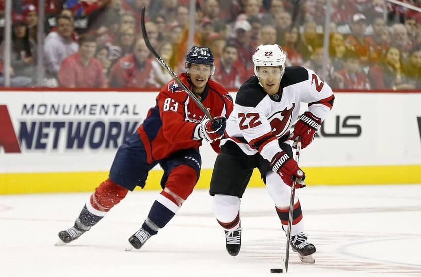 predators vs devils NHL