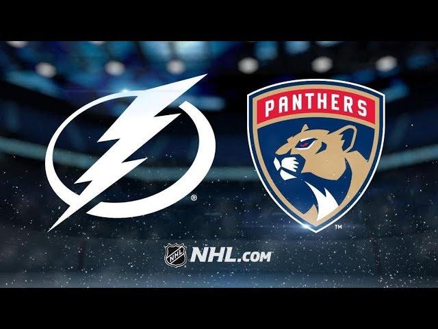 996fdf94 Tampa Bay Lightning vs Florida Panthers   Dec.01, 2018   Game ...