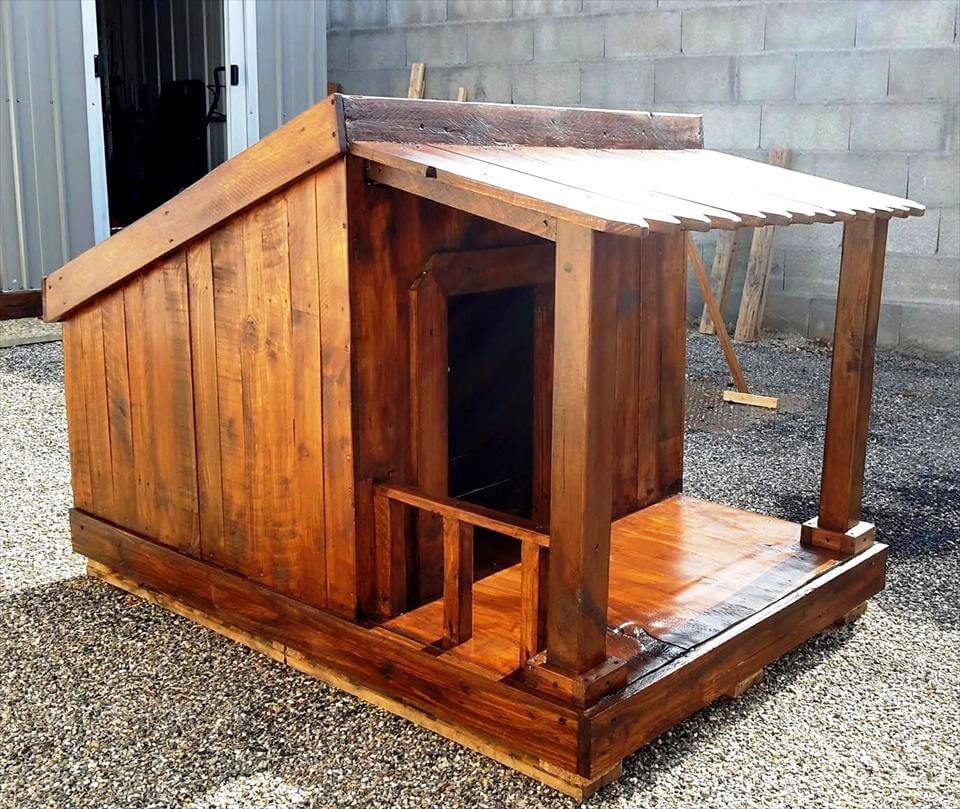 Pallet Dog House – Step by Step Plan
