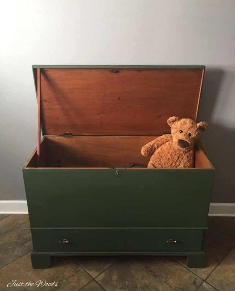 Antique Storage Toy Box