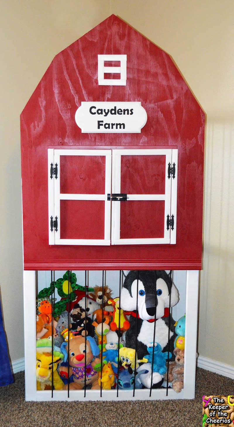 Cayden's Farm- Stuffed Animal Storage Zoo