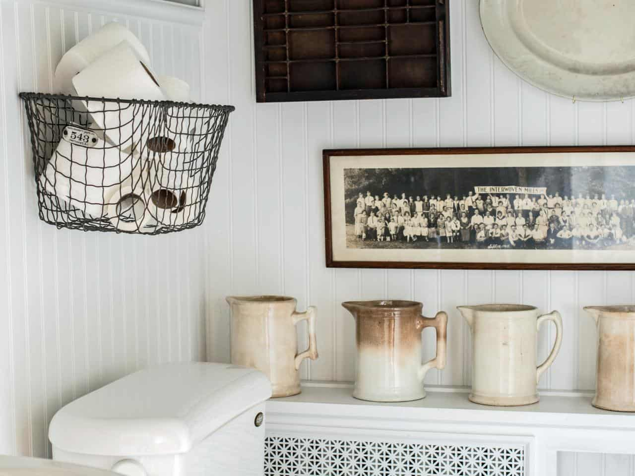 Wall-Mounted Baskets