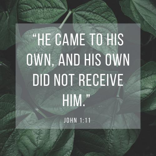 John 1:11