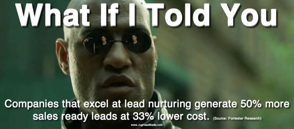 morpheus meme internet marketing statistic lead nurturing