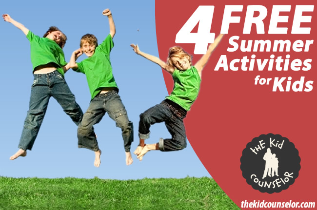 4 Free Summer Activities to Do with Your Kids