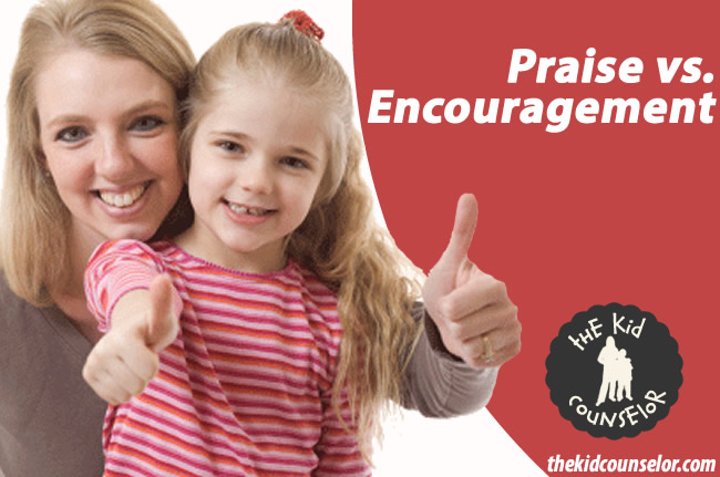 Encouragement vs. Praise