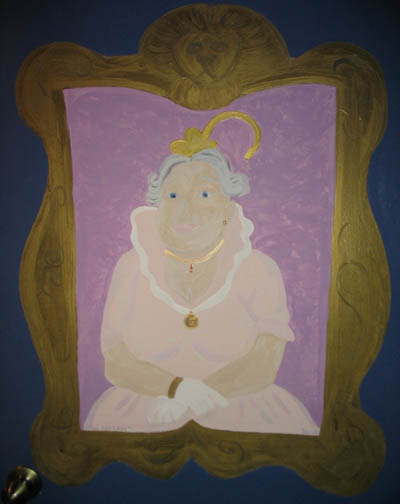 The Fat Lady On A Door The Leaky Cauldron Org The Leaky