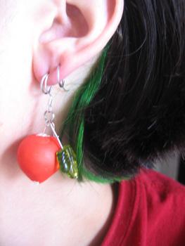 Luna Lovegood's Radish Earrings