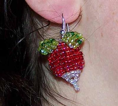 Luna Lovegood's Radish Earrings (v5)