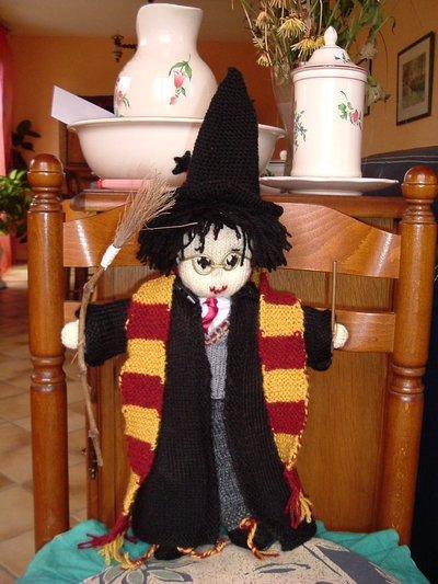 Harry Potter knit doll - 2