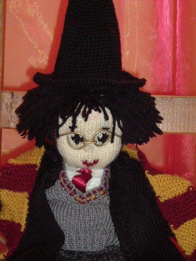 Harry Potter knit doll - 3