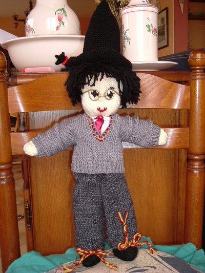 Harry Potter knit doll - 4