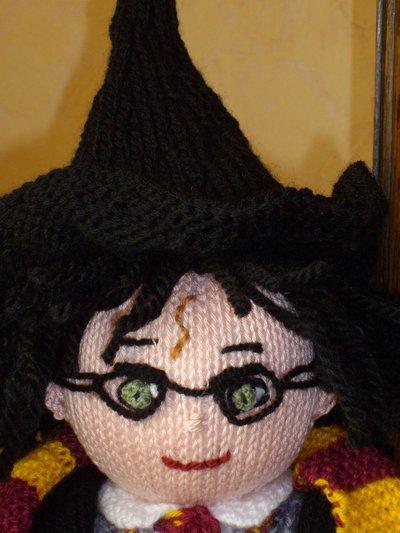 Harry Potter knit doll - 5