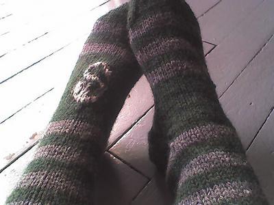 Slytherin's Serpent Socks - 2