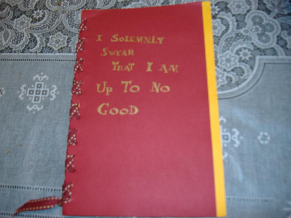 Marauders' Journal - Front