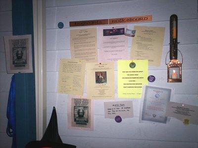 Hogwarts Notice Board