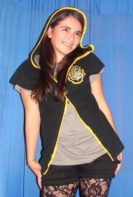 Hogwarts Robe-like Shirt - front