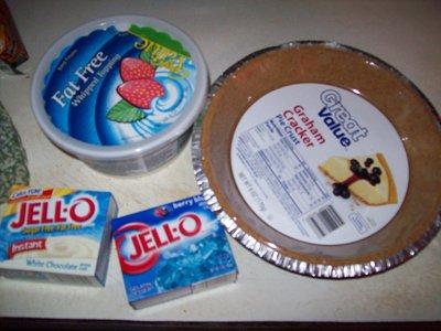 White Chocolate Billywig Pie - ingredients