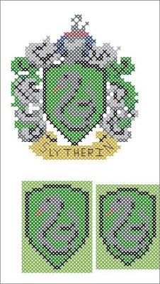 Slytherin Crest (v2) chart
