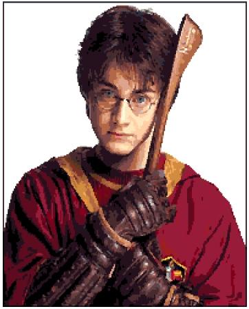 Harry Potter (v3) cross-stitch chart