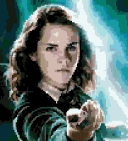 Hermione Granger (v3) cross-stitch chart