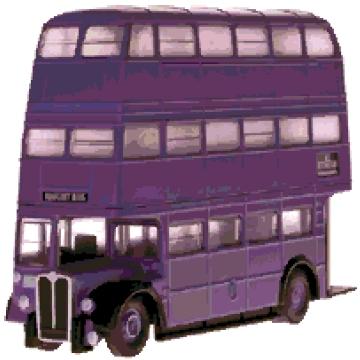 Knight Bus cross-stitch chart