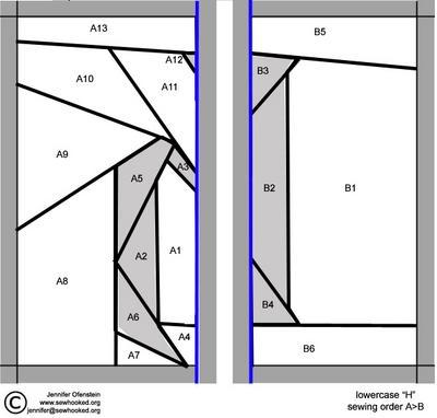 Lowercase h Pattern