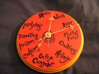 Weasley Family Clock The Leaky Cauldron Org The Leaky