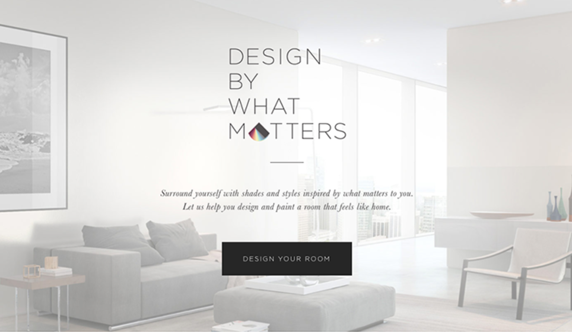 FWA Site And Mobile Of The Day: Design By What Matters