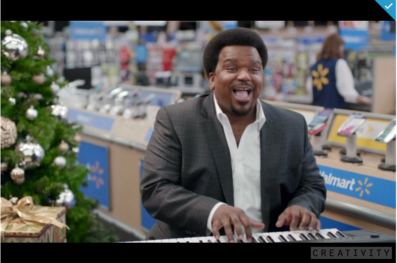 craig robinson reworks christmas songs for walmart shoppers in holiday spots - Walmart Christmas Commercial