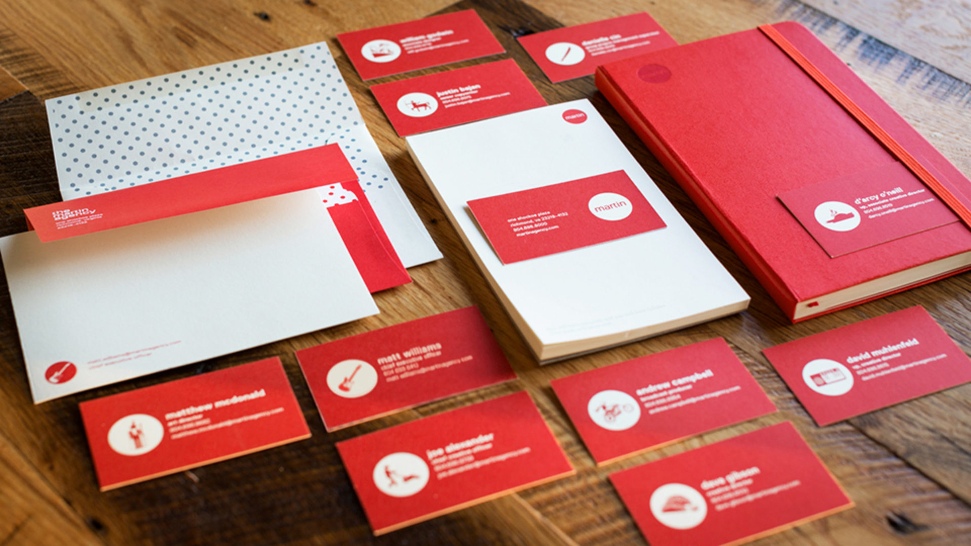 The Best Business Cards in Advertising | News | Martin Agency