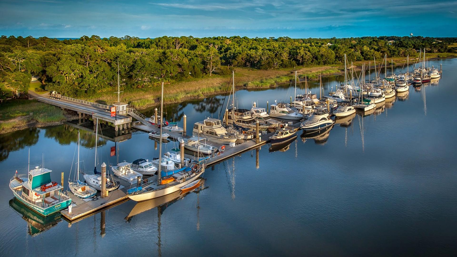 Image of the Jekyll Harbor Marina
