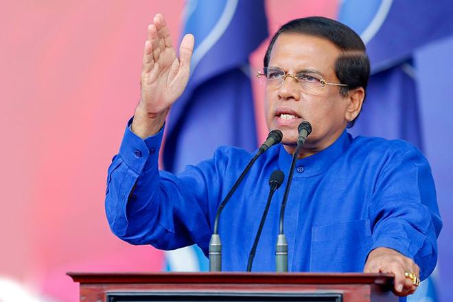 Image result for maithripala sirisena