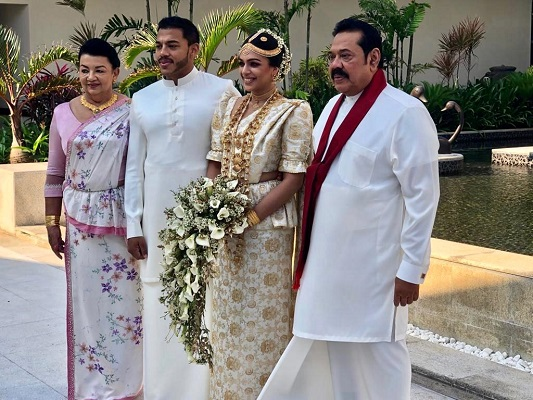 Yoshitha weds Nitheesha - The Morning - Sri Lanka News