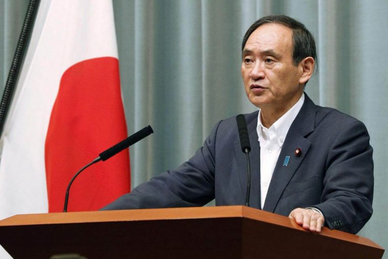 Yoshihide Suga elected new Japanese prime minister - The Morning - Sri  Lanka News