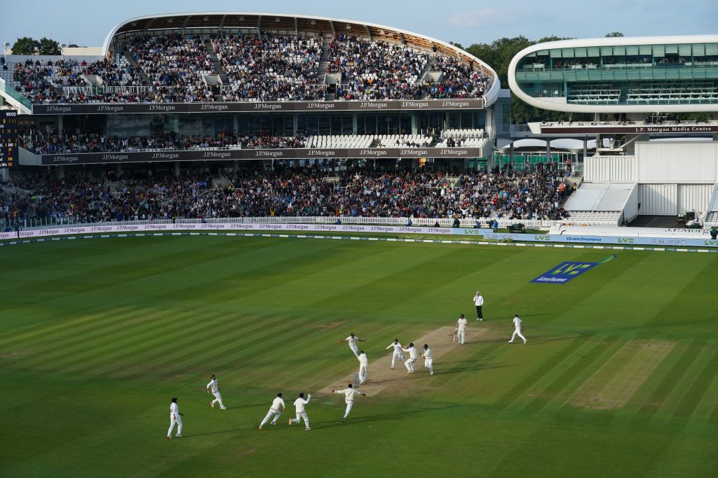 Our Sports Photo Analysis: India overpowering England at Lord's
