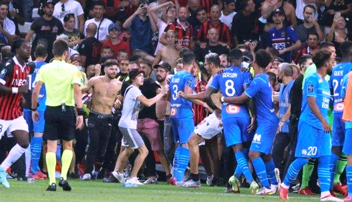 Bayern, Leipzig win as fight erupts between Nice vs. Marseille