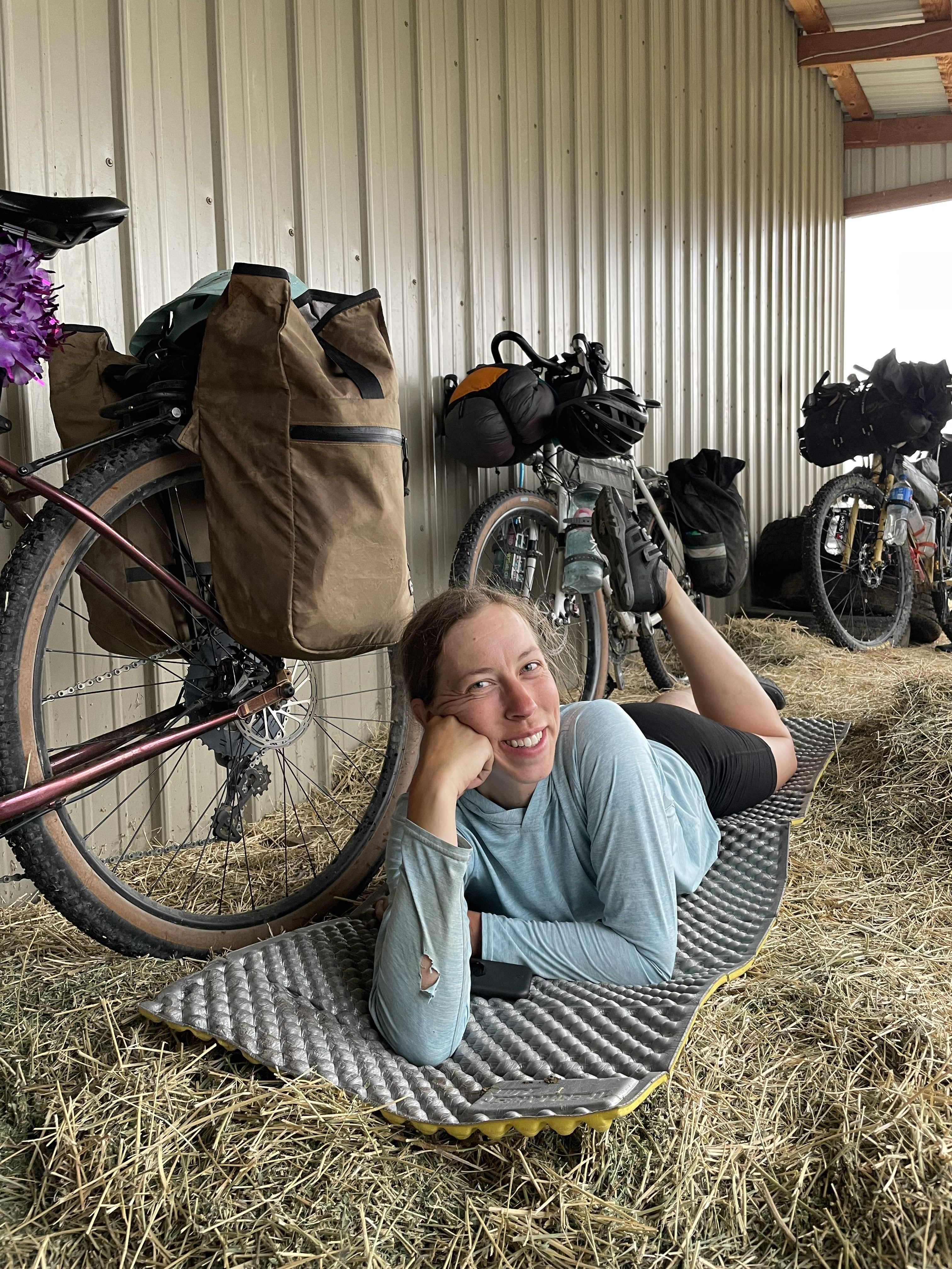Alyssa Bike Trek 3