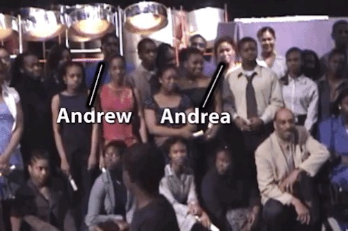 Andrew And Andrea Competing