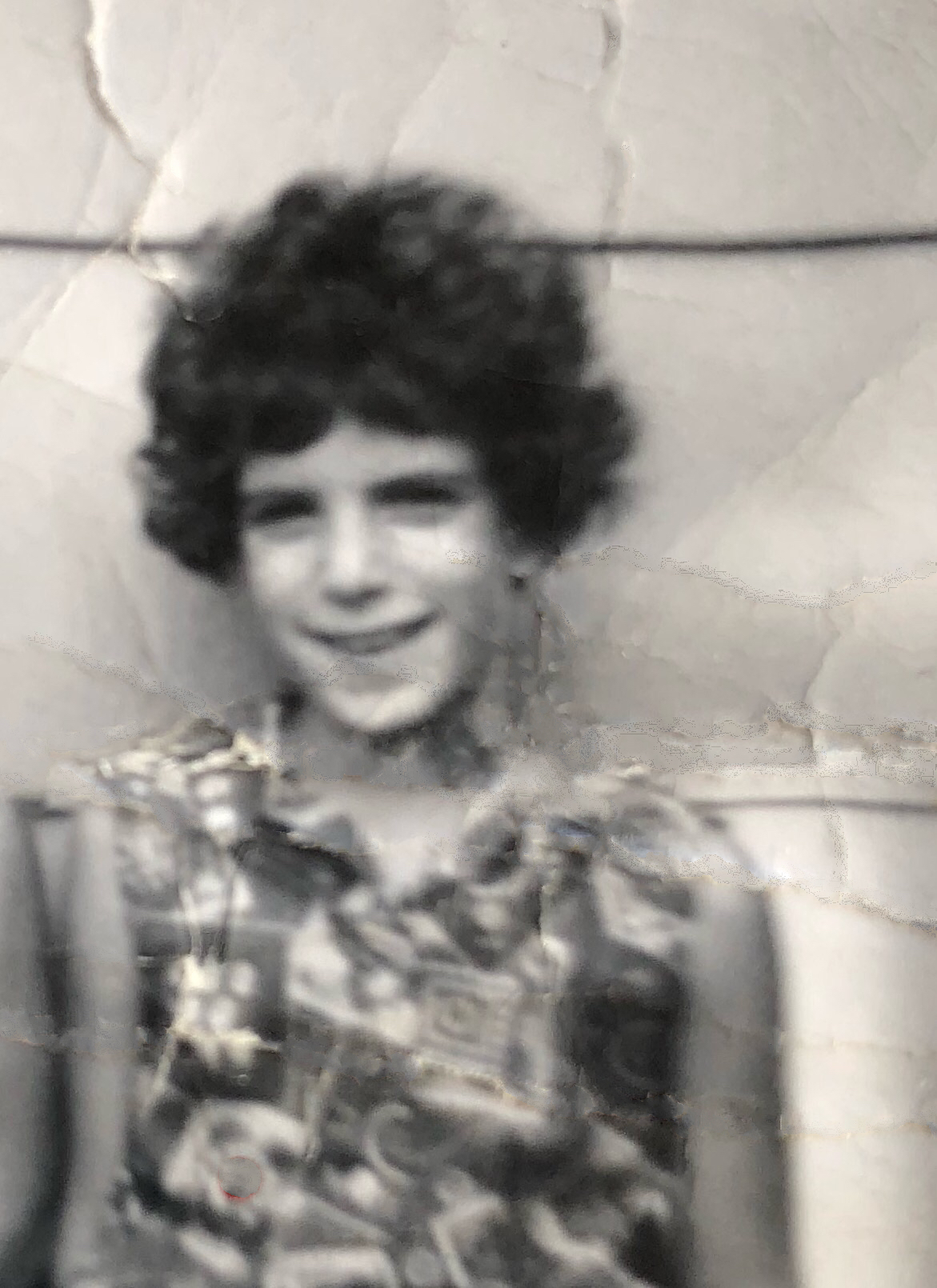 Carla Katz At Eight Years Old Paterson Nj 1
