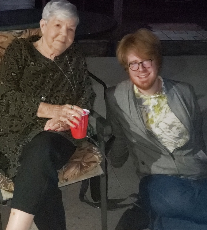 John And His Grandma Dot At The Birthday Party In The Story  Their Last Photo Together  Photographer Dottie Freeman